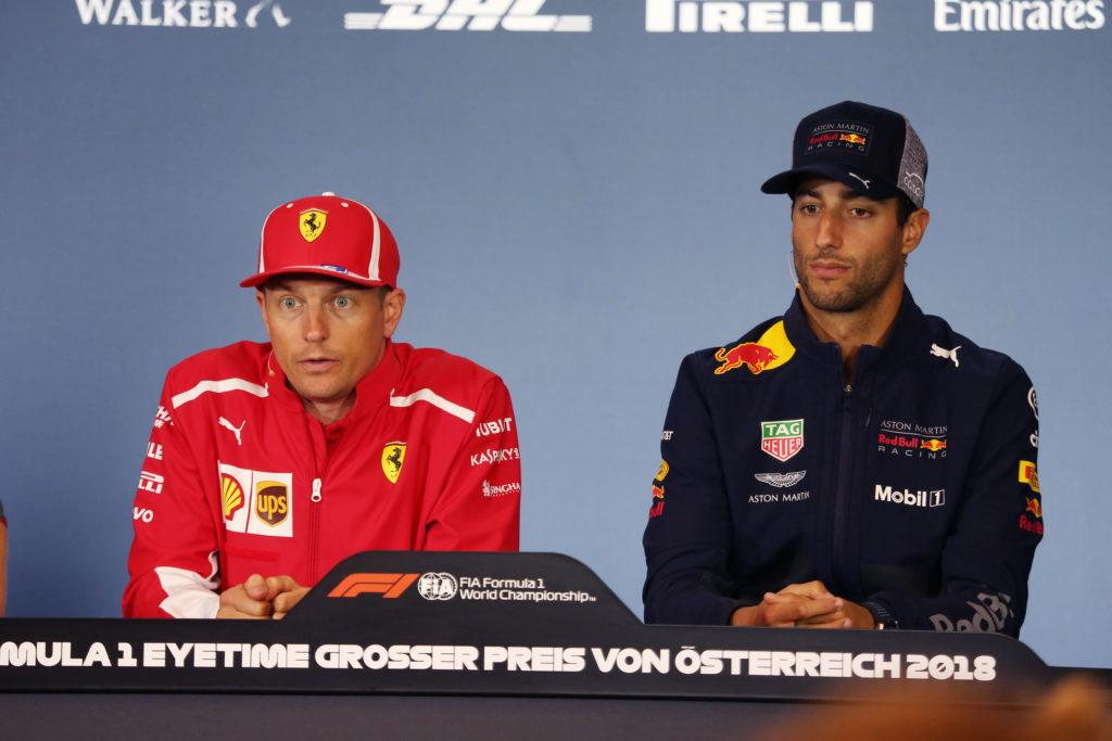 F1 | Ricciardo e Hulkenberg commentano il passaggio di Raikkonen all'Alfa Sauber