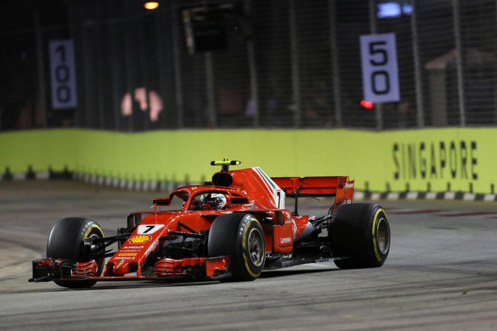 F1 | GP Singapore, statistiche: Raikkonen supera la soglia dei 1000 punti in Ferrari