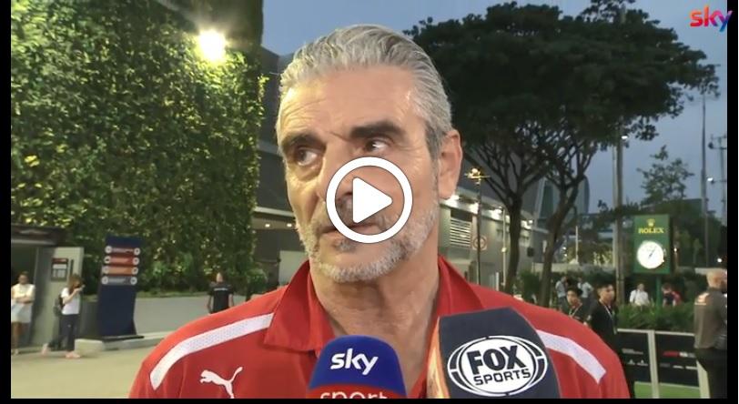 """F1   Ferrari, Arrivabene sulla promozione di Leclerc: """"Scelta per il bene del team e di Raikkonen"""" [VIDEO]"""