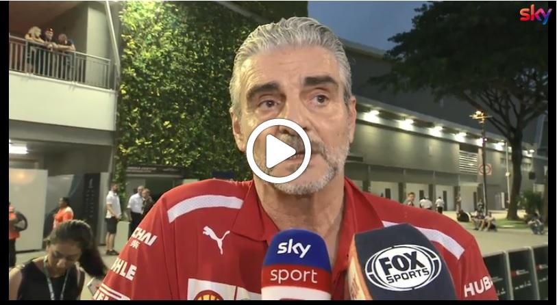 """Formula 1   Ferrari, Arrivabene sulla lotta mondiale: """"Importante non perdere punti"""" [VIDEO]"""