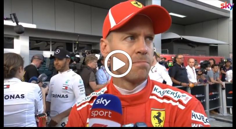 """F1   Ferrari, Vettel resta positivo: """"Tutto è possibile in gara"""" [VIDEO]"""