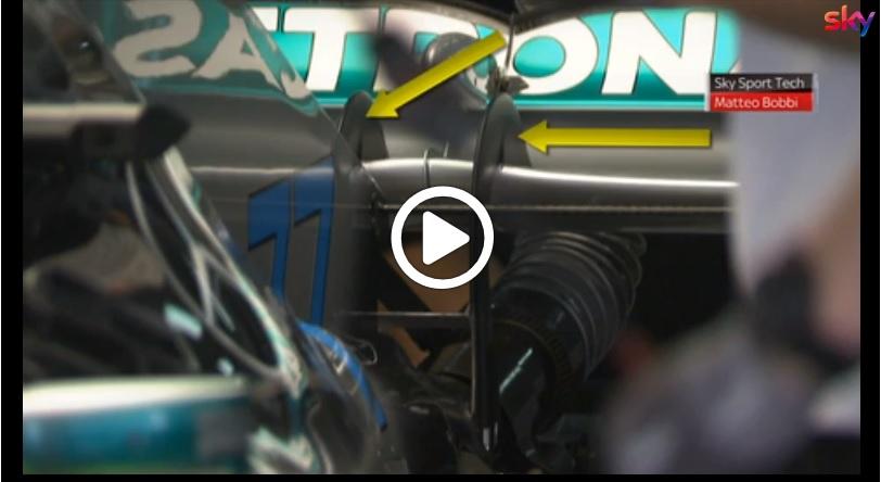 F1 | GP Russia, Mercedes presenta una nuova ala posteriore in stile Ferrari: l'analisi allo Sky Tech [VIDEO]