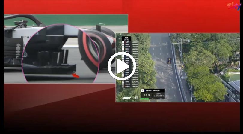 F1 | GP Singapore, nuovo fondo per la Haas dopo le irregolarità emerse a Monza [VIDEO]