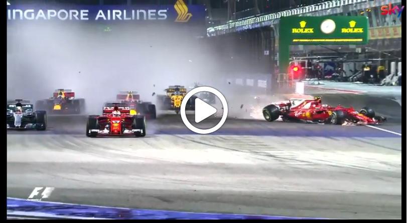 F1 | Continua la maledizione del GP di Singapore per la Ferrari [VIDEO]