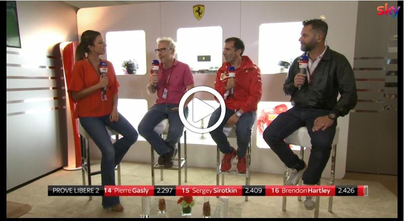 """F1   Genè ottimista: """"Pioggia al sabato? Ferrari sarà della partita anche su pista bagnata"""" [VIDEO]"""