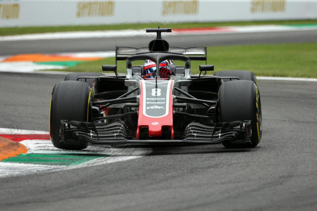 Grosjean squalificato, la sua Haas era