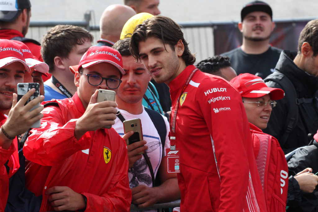 Un pugliese in Formula 1: Giovinazzi pilota Sauber Alfa Romeo