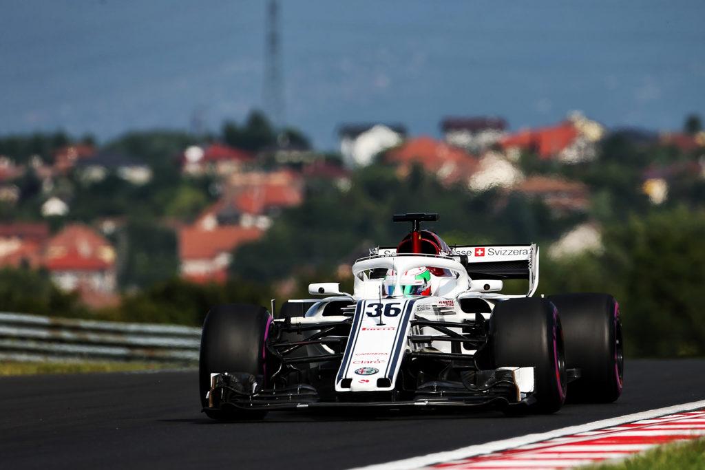 Giovinazzi riporta l'Italia su una monoposto di Formula Uno
