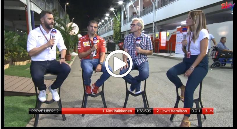 F1   GP Singapore, Hamilton sorprendente nelle simulazioni qualifica: campanello d'allarme in casa Ferrari? [VIDEO]