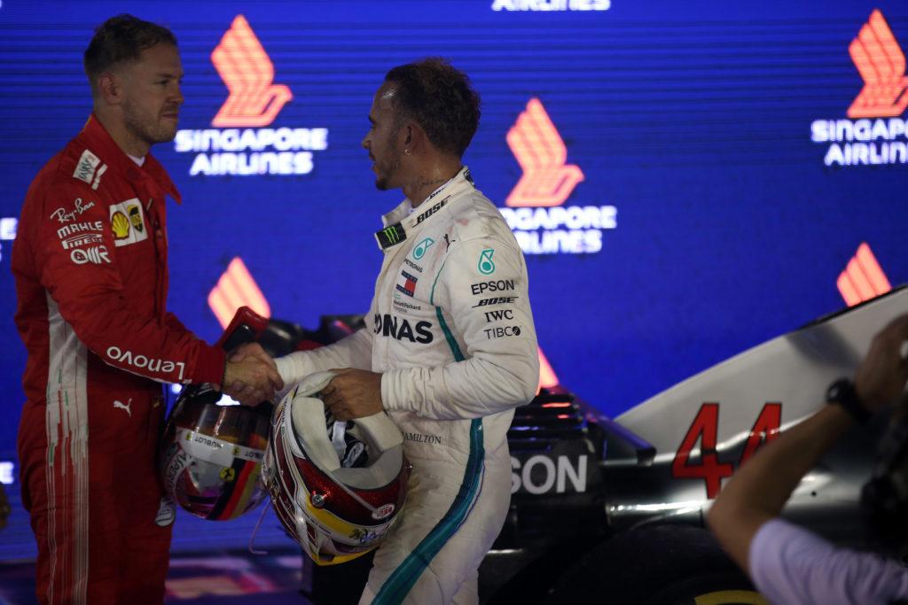 """F1   Hamilton: """"Orgoglioso di non commettere errori come Vettel"""""""