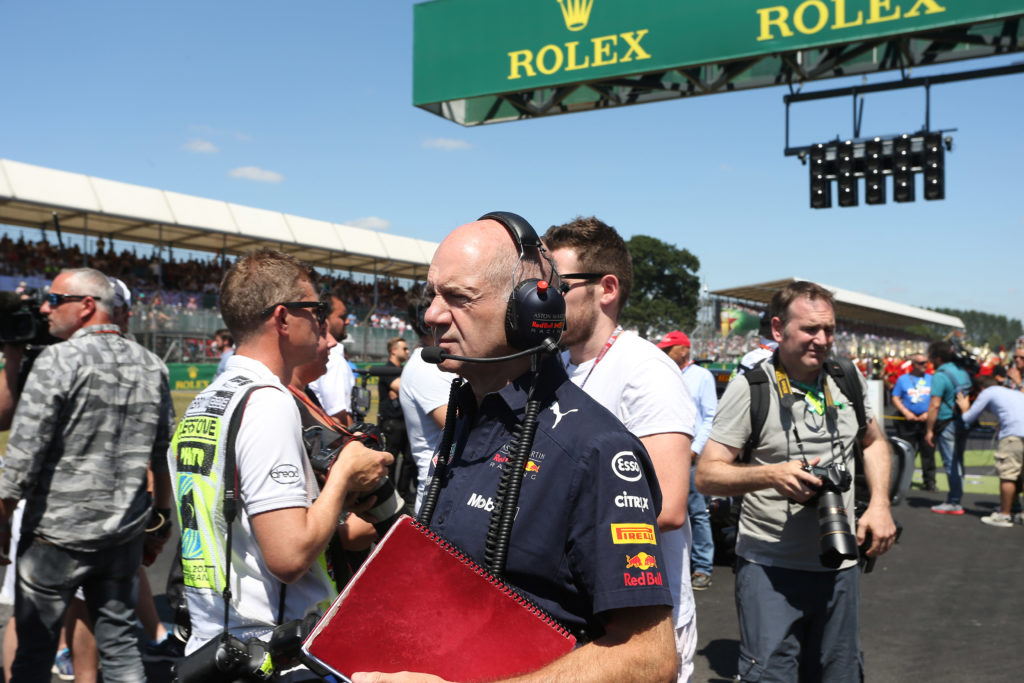 """F1   Red Bull, Newey sul progetto con Honda: """"Impressionato dal loro impegno"""""""