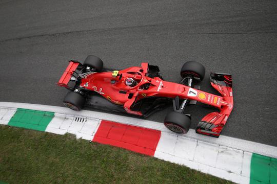 F1 GP Italia, Qualifiche: pole position a Raikkonen, prima fila tutta Ferrari