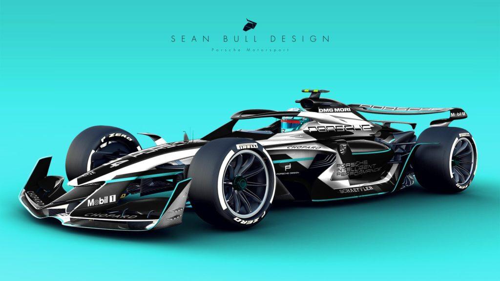 F1 | Sean Bull presenta un'ipotetica livrea Porsche per la stagione 2021 [RENDER]