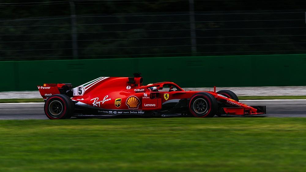 F1 Gran Premio d'Italia | Ferrari prima e terza