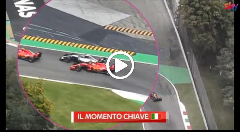 F1 | GP Italia, Hamilton e Vettel protagonisti del momento chiave della corsa di ieri [VIDEO]