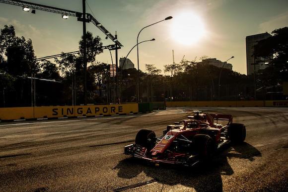 F1 Singapore, gioia Hamilton:
