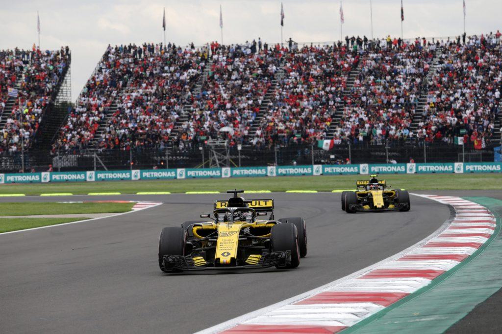 F1 | Renault dai due volti in Messico: Hulkenberg sesto, Sainz ritirato