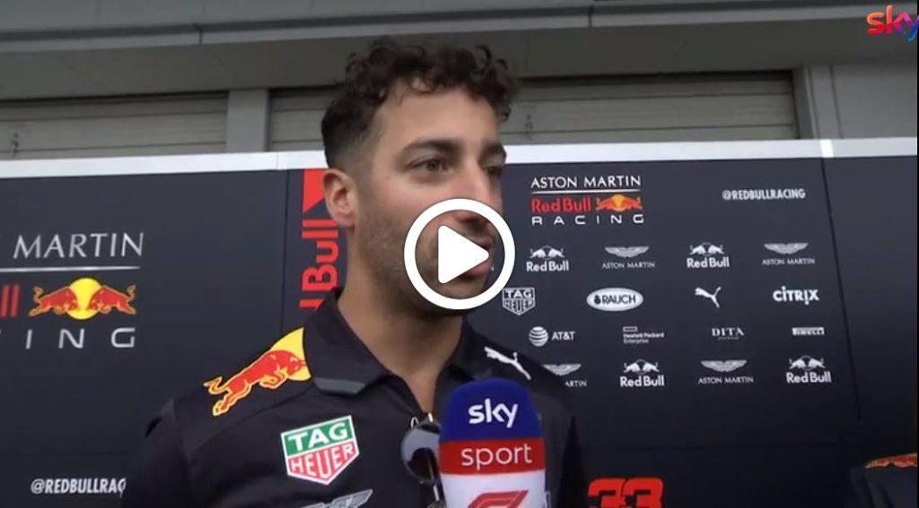 """F1   Red Bull, Ricciardo carico: """"Pronto per un podio a Suzuka"""" [VIDEO]"""