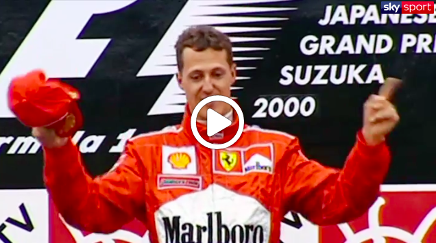 F1 | Ferrari, Suzuka 2000: Schumacher interrompe il digiuno Mondiale [VIDEO]