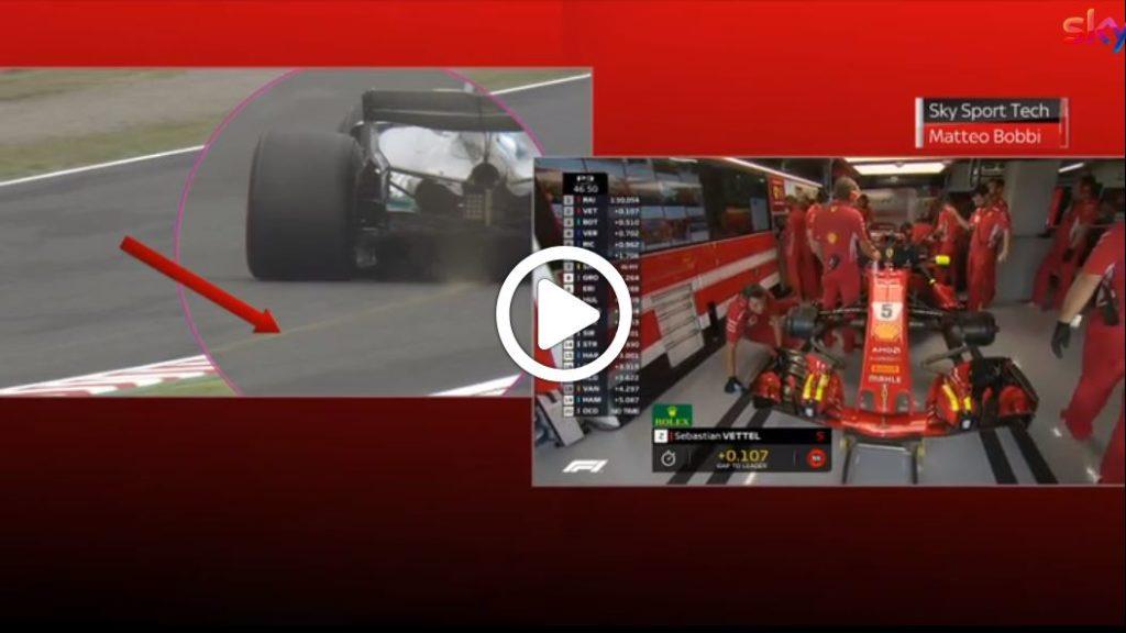 F1   GP Giappone, il bottoming della Mercedes allo Sky Tech [VIDEO]