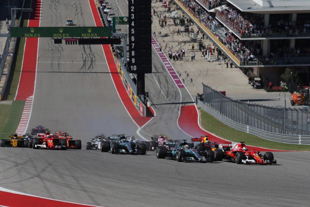 F1   Confermate le zone DRS per il Gran Premio degli Stati Uniti