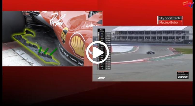 F1 | GP USA, Ferrari ad Austin con un corposo pacchetto evolutivo: l'analisi allo Sky Tech [VIDEO]