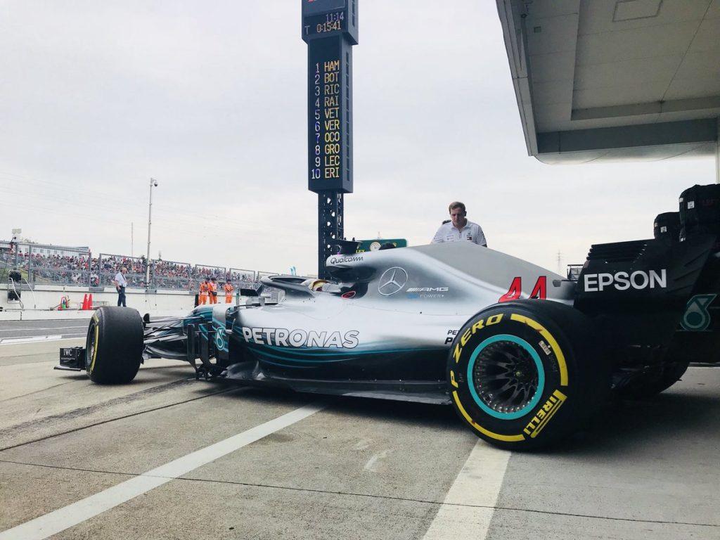 F1 GP Giappone, Prove Libere 1: buona la prima per Hamilton
