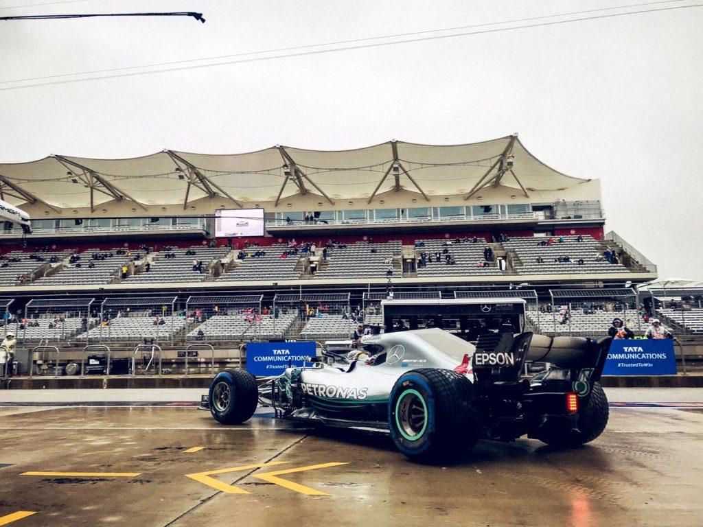 F1 GP Stati Uniti, Prove Libere 1: Hamilton affamato, pochi giri e il miglior tempo