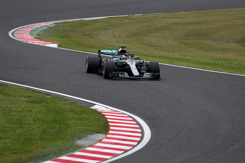 F1 GP Giappone, Prove Libere 2: Hamilton saldo al comando e velocissimo
