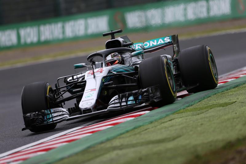 F1 GP Giappone, Prove Libere 3: Hamilton davanti anche nell'ultima sessione