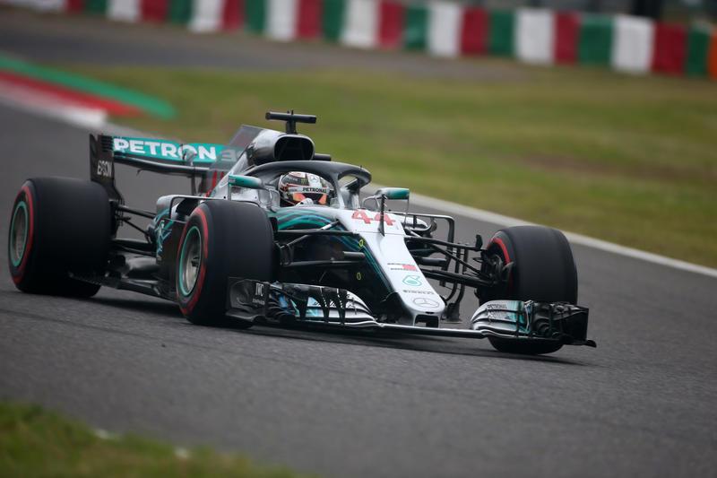 F1 GP Giappone, Qualifiche: pole di Hamilton, prima fila tutta Mercedes