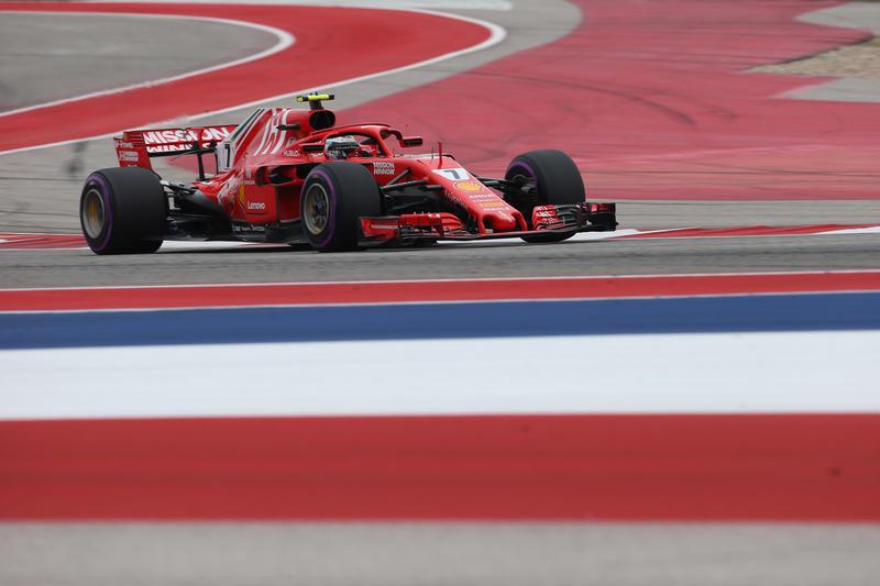 F1 GP Stati Uniti: Raikkonen torna a vincere, Hamilton rimanda la festa iridata