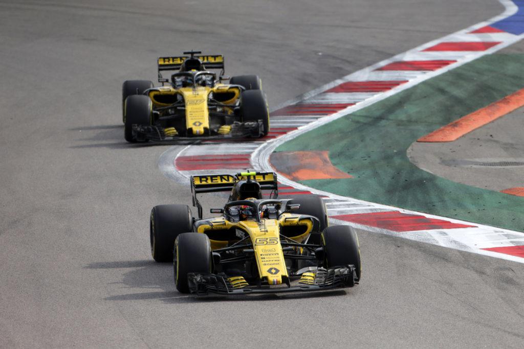 F1 | Week-end deludente per il team Renault sul tracciato del Sochi Autodrom