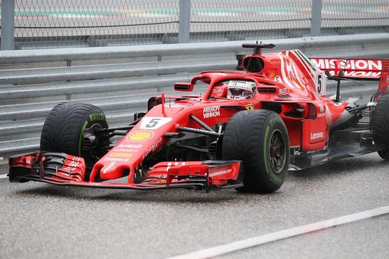 F1 GP Stati Uniti, Prove Libere 3: Ferrari davanti alle Mercedes, Vettel detta il passo