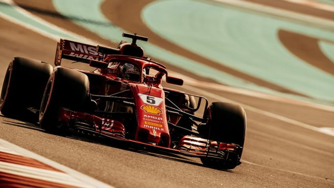 """Test F1   Ferrari, Vettel: """"I pneumatici sembrano funzionare bene"""""""