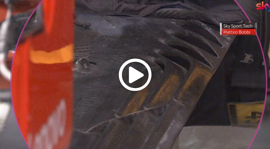 F1 | Sky Tech, fondo Ferrari in FP2: niente generatori di vortice [VIDEO]