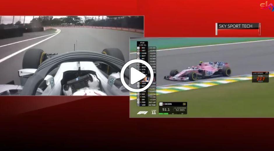 F1 | Sky Tech, Hamilton e i bumps sulla pista di Interlagos [VIDEO]