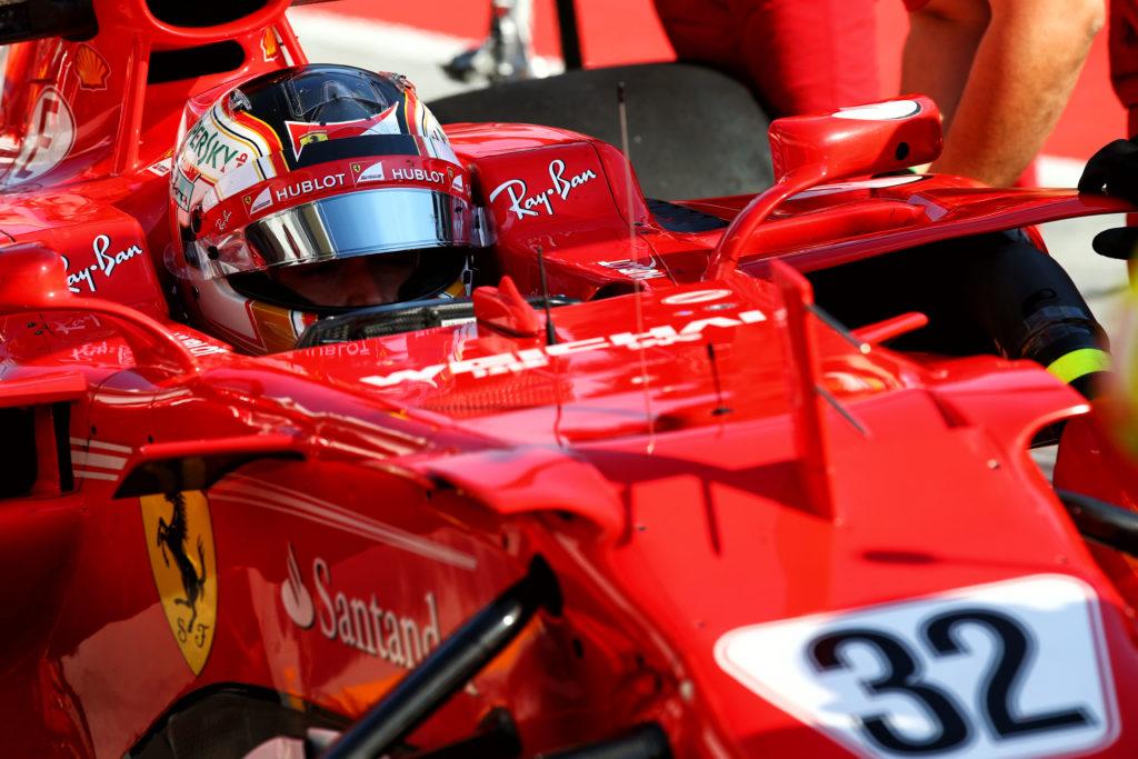 Gp Brasile:multa e reprimenda per Vettel