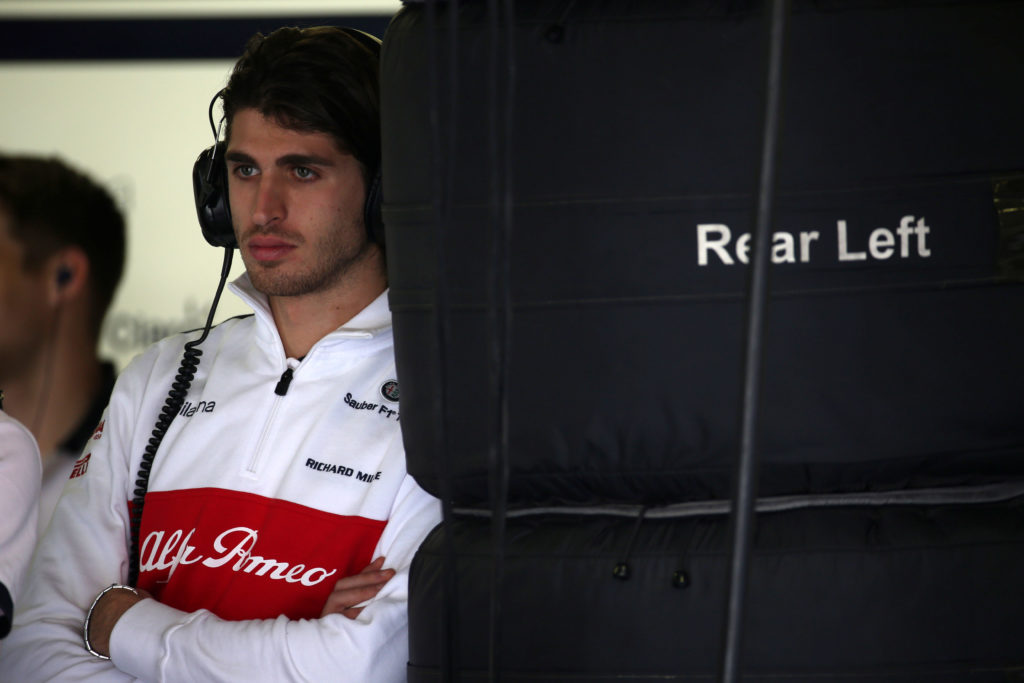 F1   GP Brasile, Alfa Romeo Sauber: Giovinazzi in pista nelle prime libere