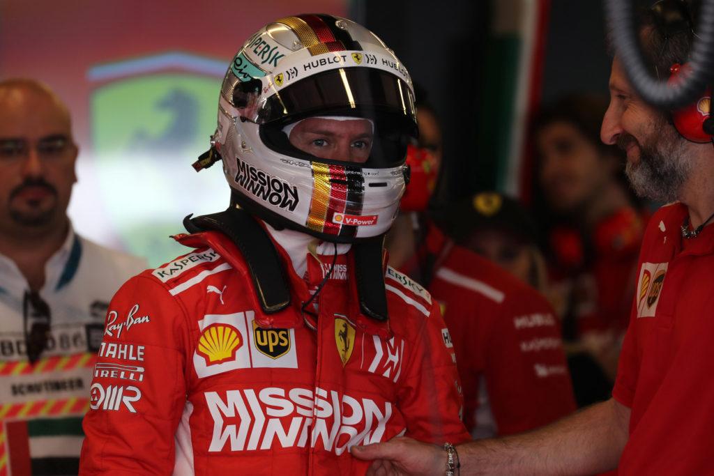 """F1   Ferrari, Vettel: """"Non vedo l'ora di riposarmi"""""""