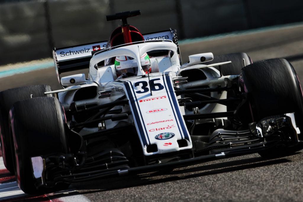 F1 Test | Alfa Romeo Sauber, Giovinazzi completa 128 giri