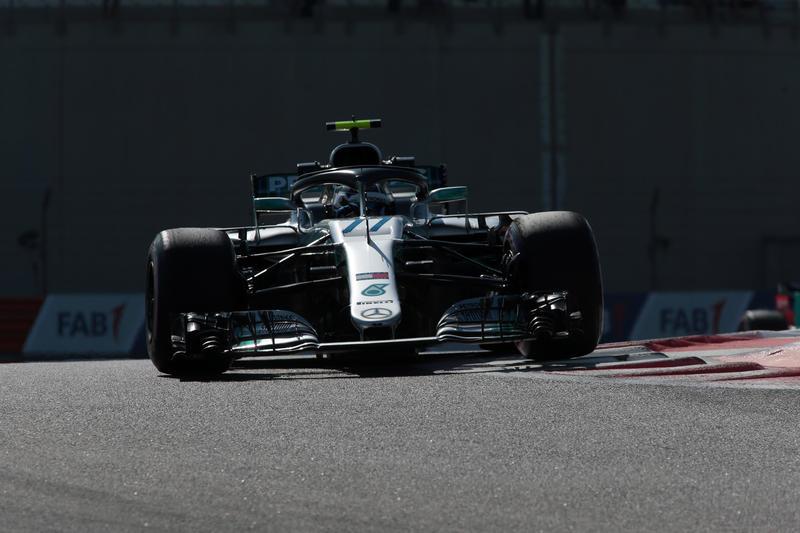 F1 GP di Abu Dhabi, Prove Libere 2: Bottas si impone davanti alle Red Bull