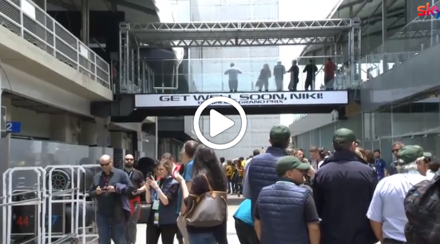 F1 | Il paddock di Interlagos vicino a Lauda [Video]