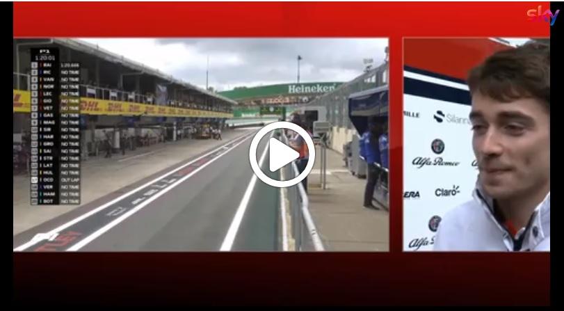 "F1   Alfa Romeo Sauber, Leclerc scherza: ""Verstappen? Tanti scontri in passato"" [VIDEO]"