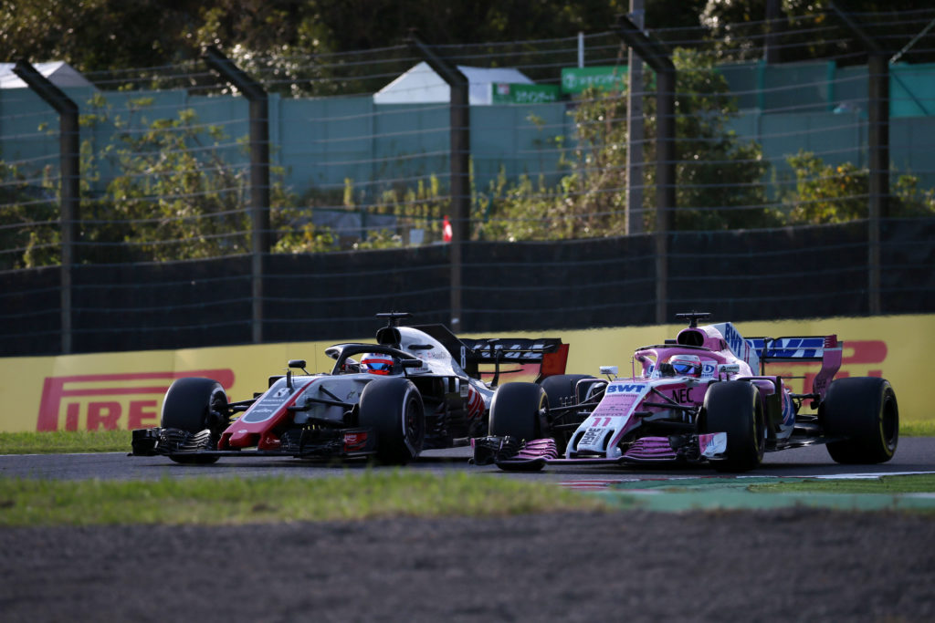 F1 | Haas contro Force India