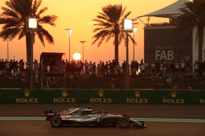 F1 GP Abu Dhabi: Hamilton fa sua anche l'ultima gara della stagione 2018