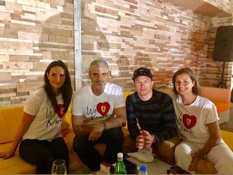 F1 | Addio Raikkonen, Ferrari saluta il finlandese con una maglietta celebrativa