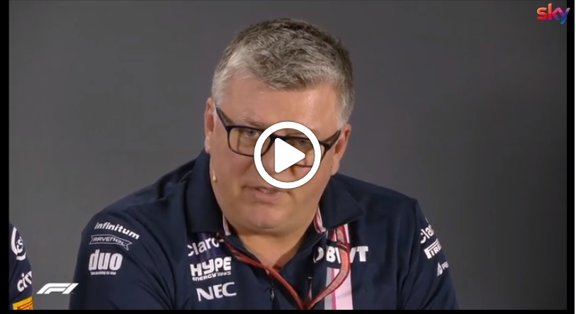 "F1 | Force India, Szafnauer sul reclamo Haas: ""Mossa che ci ha sorpresi"" [VIDEO]"