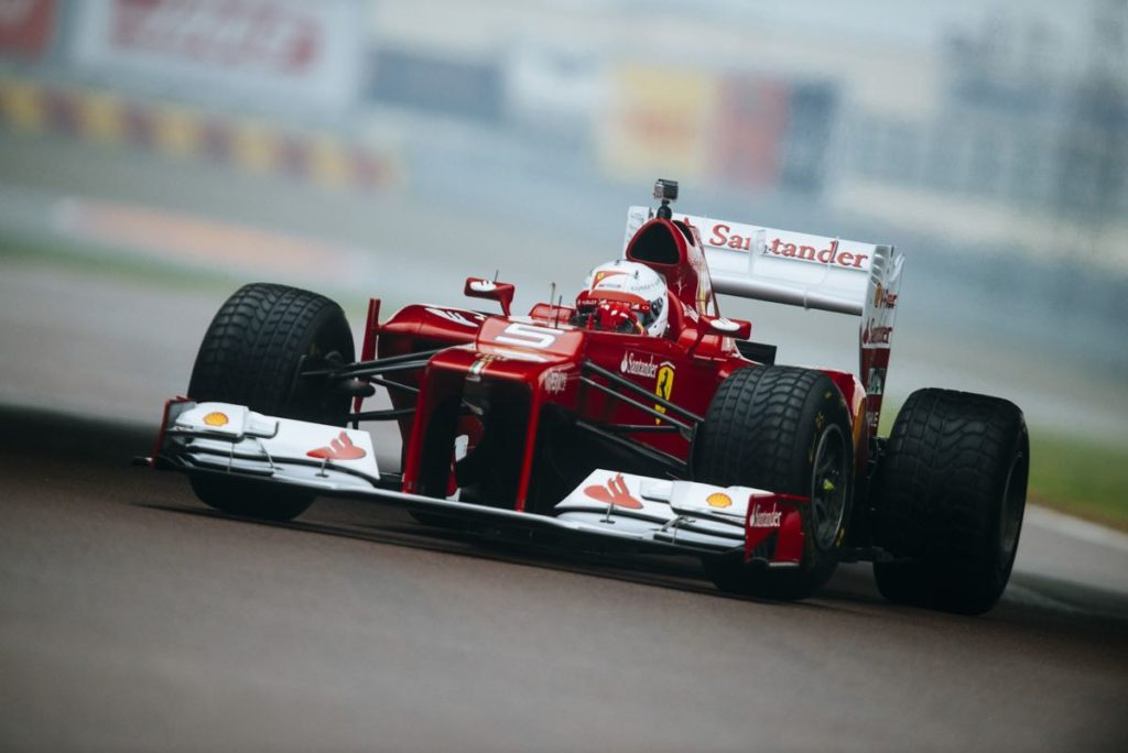"""F1   """"Il mio Primo giorno in Ferrari"""": quattro anni fa il debutto di Vettel con la Rossa"""