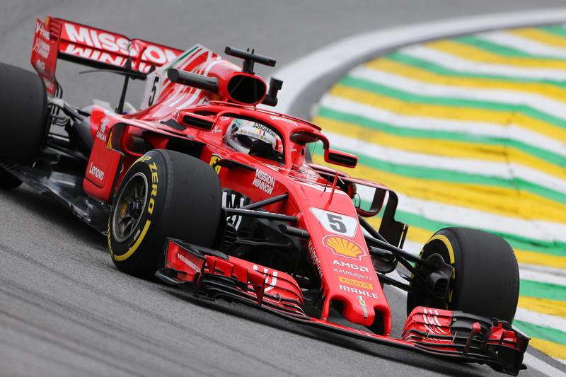F1 GP Brasile, Prove Libere 3: Vettel inseguito dalle due Mercedes